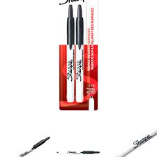 Sharpie Retractable Permanent Markers Fine Point Black 2 Count 32724pp