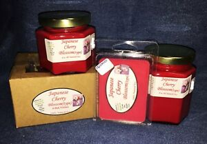 *NEW* Hand Poured Scented Soy Candles Tarts & Votives - Japanese Cherry Blossom