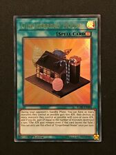 Yu-Gi-Oh 3x Ultra Rare Gingerbread House 1st Edition BLHR-EN004 NM