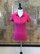 Burberry Brit Women's Pink Pullover Polo Top Size XS