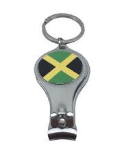 Jamaica Flag Nail Clipper Cutter Key Ring