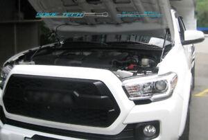 sokietech Black Strut Lifter Hood Damper Kit fits 2016-2021 Toyota Tacoma N300