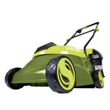 Cordless Electric Push Lawn Mower 14in 28V Li Ion Batte