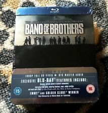 Tom Hanks & Steven Spielberg - HBO Band of Brothers Blu-Ray DVD Collectible Tin