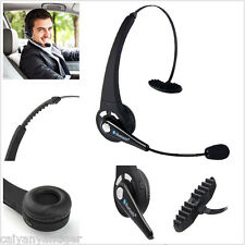 Noise Cancelling Wireless Handsfree Bluetooth Headset Boom With Mic Truck Driver