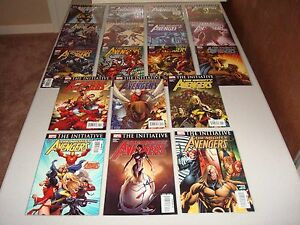 MIGHTY AVENGERS  #1 - 36  (Complete Series)
