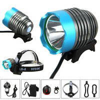 5000Lm XML T6 LED Light Bicycle Headlight Headlamp Rechargeable Torch 18650 Lamp