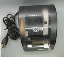 Brother QL-500 Label Thermal Printer With Power Cable And USB Cable