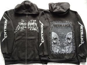 Metallica Black Album HOODIE ZIPPER Kapuzenjacke Zip Limited Ltd THRASH METAL