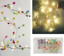 20 LED Light String Multicolour Kid's Birthday Party Decoration Children Wedding