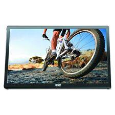 "AOC e1649FWu 16"" 1366x768 16ms LED LCD USB-Powered Flexi-Stand Monitor Black"