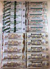 FREE GIFT🎁+20x High Hemp Wraps Organic Natural MauiMango HoneyPotSwirl GrapeApe