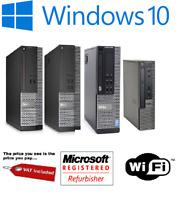 Dell Optiplex 9020 7020 3020 PC i5 SFF 4GB 8GB 16GB SSD HDD Win 10 Pro Computer
