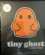 TINY GHOST GLOW-IN-THE-DARK FIGURE BIMTOY ORANGE NYCC 2019 FUGITIVE TOYS