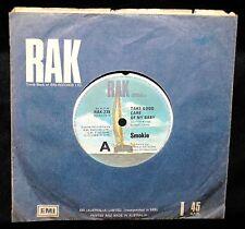 SMOKIE - TAKE GOOD CARE OF MY BABY - RARE 1980 OZ 1ST PRESS/RAK-239/VG+