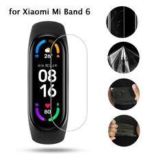 2/5x For Xiaomi Mi Band 6 3D Soft Hydrogel TPU Screen Protector Film Watchband 6