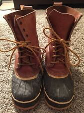 Mens Knapp Boots, Size 8