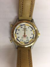 VINTAGE SEIKO SPORTS TIMER OLYMPIC SPORTS RARE COLLECTIBLE CHRONOGRAPH WATCH!