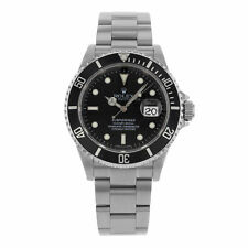 Rolex Submariner 16610 T 4-Liner Date No Holes 2004 Steel Automatic Mens Watch