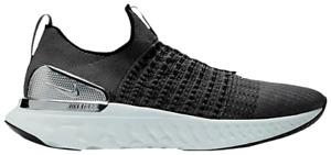 Nike React Phantom Run FK 2 Mens US 8.5 UK 7.5 Grey CJ0277 006 Running Trainers