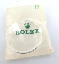 N.O.S RARE ROLEX TROPIC PLEXIGLASS #17 FITS JAMES BOND 5510 6200 6538 7924 C1959