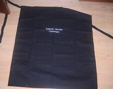 LAURENT PERRIER CHAMPAGNE SOMMELIERS APRON CENTRE POCKET BLACK.