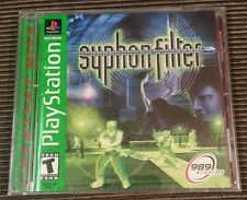 Syphon Filter Greatest Hits (Sony PlayStation 1, 1999) Complete Tested PS1 PS2
