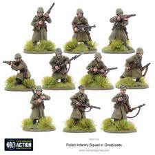 Warlord Games BNIB Polish Infantry Squad with Great Coats (10 man) WGB-PI-04