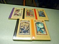 Lot of 5 Series of Unfortunate Events Books 4-8Lemony Snicket  Paperback