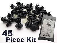 Honda Civic Mk7 Plastic Trim Clip Kit- Front End Plastic Fastener Assortment Set