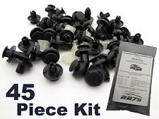 Honda Civic Mk7 Plastic Trim Clip Kit- Front End Plastic Fastener Assortment Set