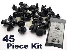 Honda CIVIC mk7 bordure Clip Plastique Kit-extrémité avant plastique fastener assortiment set