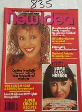 NEW IDEA 1989 JULY 15,KYLIE MINOGUE COVER & FEATURE