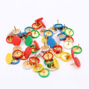 Coloured Drawing Pins 8.7*10mm Assorted Mix Thumb Tacks x50 + Multi Pack Deals