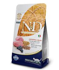 Farmina - N&d crocchette Cat Ancestral Agnello & Mirtillo. 1.5kg