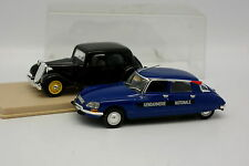 Norev Eligor 1/43 - Lot de 2  : Citroen DS et Citroen Traction