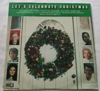 LET'S CELEBRATE CHRISTMAS LP VARIOUS 33 GIRI VINYL USA 1973 CAPITOL SL6923 NM/EX