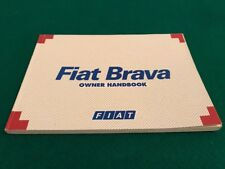 Fiat Brava Owners Handbook/Manual 1996-2001.   184 Pages.