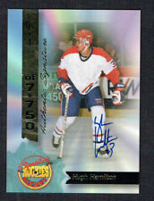 Hugh Hamilton #16 signed autograph auto 1994 Signature Rookies Hockey Card
