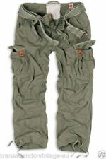Pantalones de hombre verdes Surplus Raw Vintage