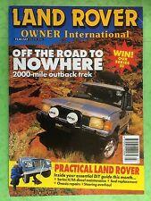 Land Rover Owner International - July 1996 - Range, Australian Expedition