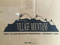 Dept 56® VILLAGE MOUNTAIN CENTERPIECE - BRAND NEW
