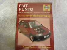 FIAT PUNTO 1994 -1999 PETROL & DIESEL HAYNES SERVICE & REPAIR MANUAL NEW SEALED