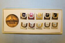 Soviet University Game Badges (pins). Moscow, 1973. Gift set
