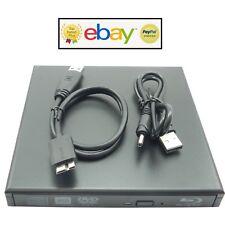External USB 3.0 Slim SATA CD DVD ROM DVD Drive Caddy Cover Case Notebook Laptop