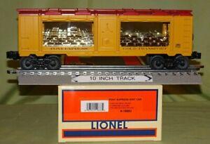 Lionel 19683 Pony Express Gold Transport Mint Car (O/027 ga) 2002