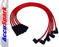 ACCUSPARK Alto Rendimiento 8mm Silicona Cables HT para Ford Escort 1.1 y 1.3