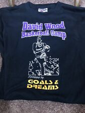 VINTAGE PREVIOUS GOLDEN STATE WARRIORS PLAYER BASKETBALL CAMP T-SHIRT  (XL)