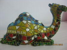 Exclusive collectiIble mosaic style camel figurine israel souvenir decor gift