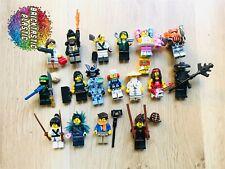 LEGO - Ninjago - near complete set minifigure series x17 figs - 71019 RARE!